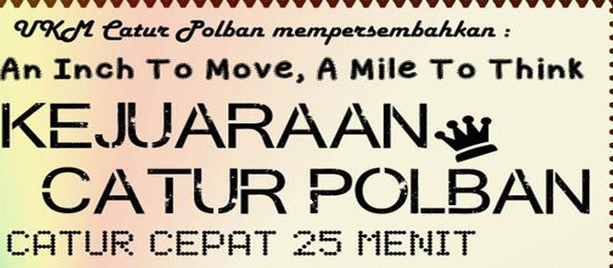 Kejuaraan Catur Polban 2014